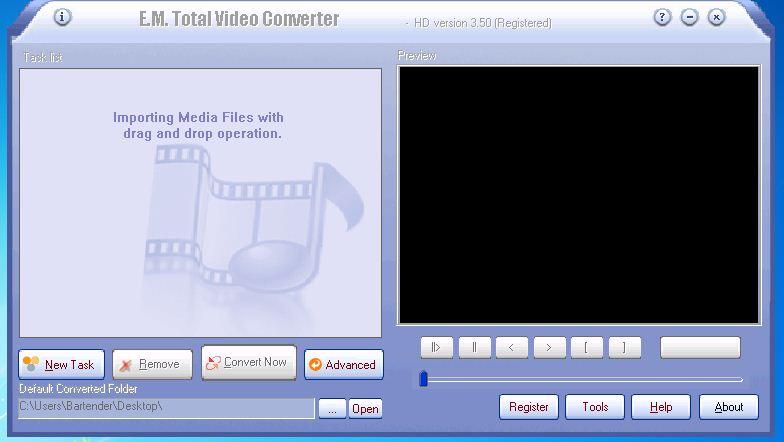 برنامج Total Video Converter.