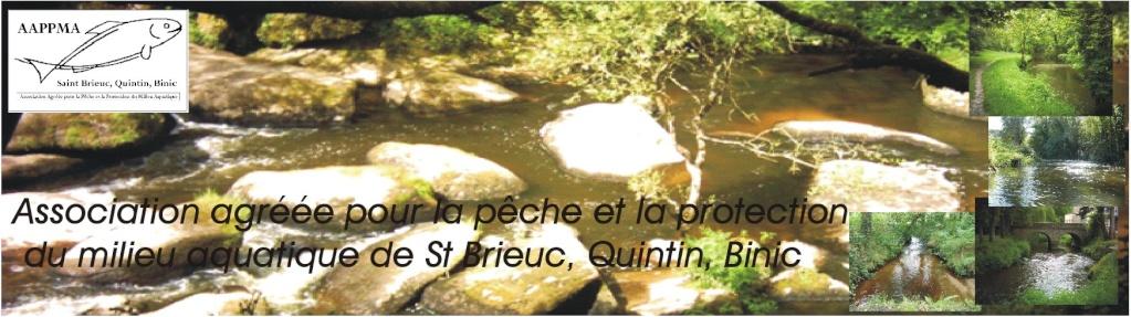 AAPPMA de Saint-Brieuc, Quintin, Binic