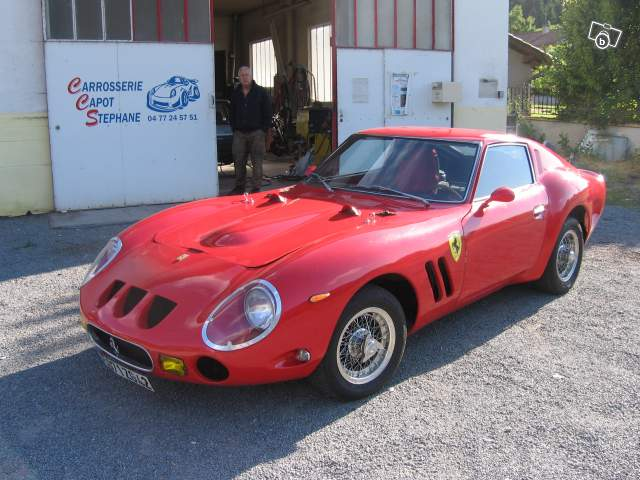 ferrari gto r plique. Black Bedroom Furniture Sets. Home Design Ideas