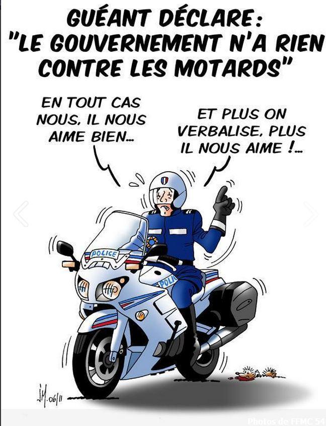 Ffmc manifs unitaires les 24 et 25 03 2012 page 2 - Dessin humour moto ...