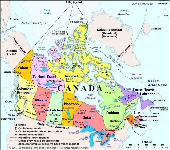 Ville La Plus Septentrionale Du Canada