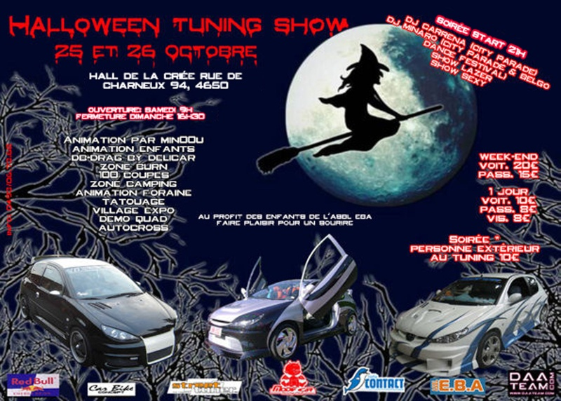 Halloween tuning Show (Belgique) - Meeting, salons... - Discussion générale