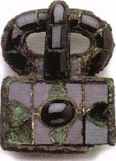 Garnitures de ceinture en bronze