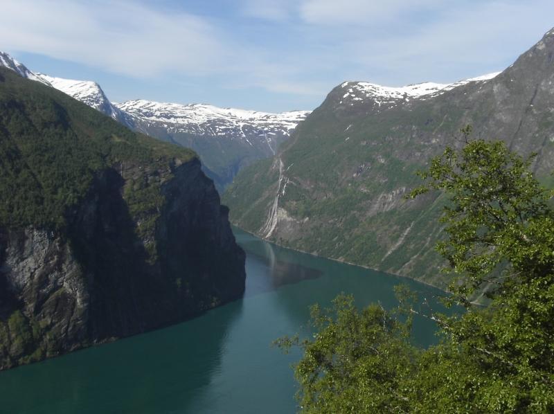 Fjord de Geiranger Norvège