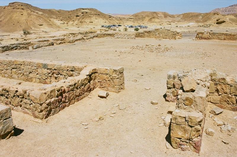 Le monastère de Qumrân en Israël