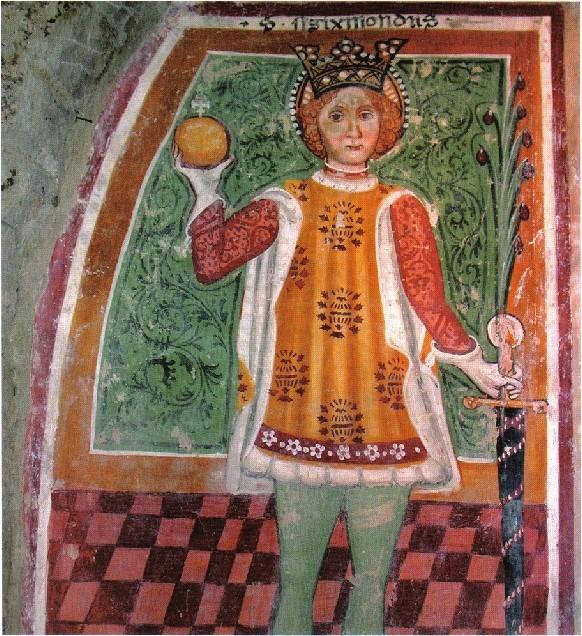 Sigismond, roi des Burgondes de 516 à 523.