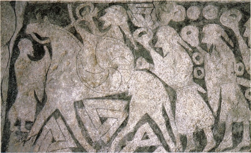 Stèle provenant de la province de Gotland.