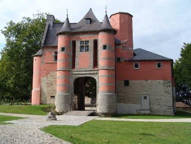 Le château de Trazégnies.
