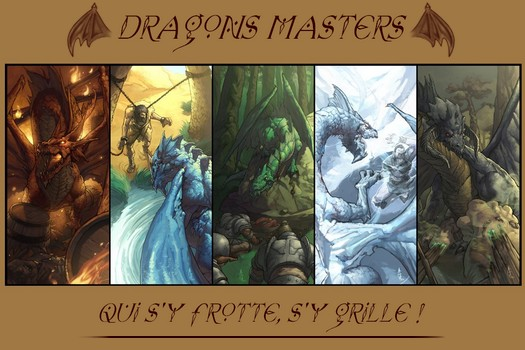 Le Manoir des Dragons Masters