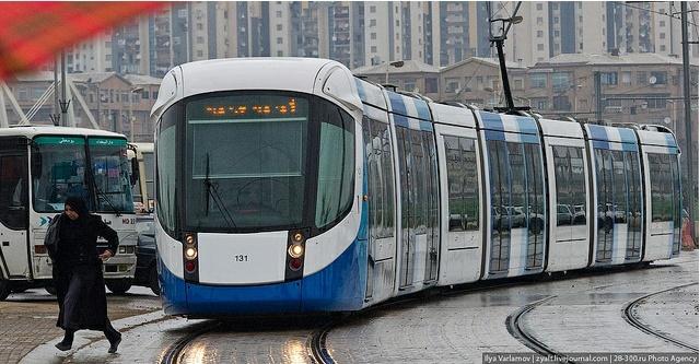 Le tramway se développe en Algérie