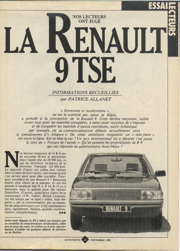Renault 9 tse dergi tan t m frans zca for Renault 9 interieur