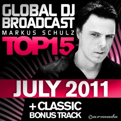 Global DJ Broadcast Top 15 July 2011