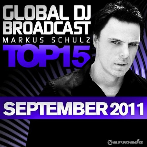 Global DJ Broadcast Top 15 September 2011