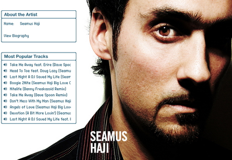 Seamus Haji Big Love Mix - Recorded Live - May 2012