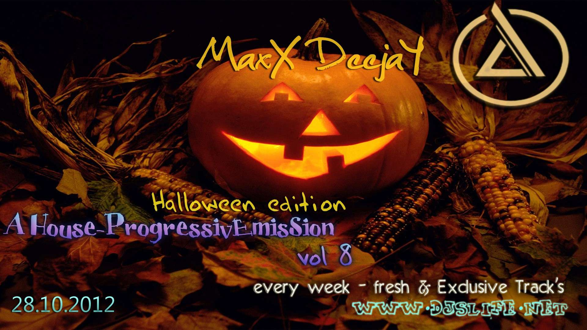 MaxX DeejaY - A House-ProgressivEmisSion vol 8 (Halloween Edition)