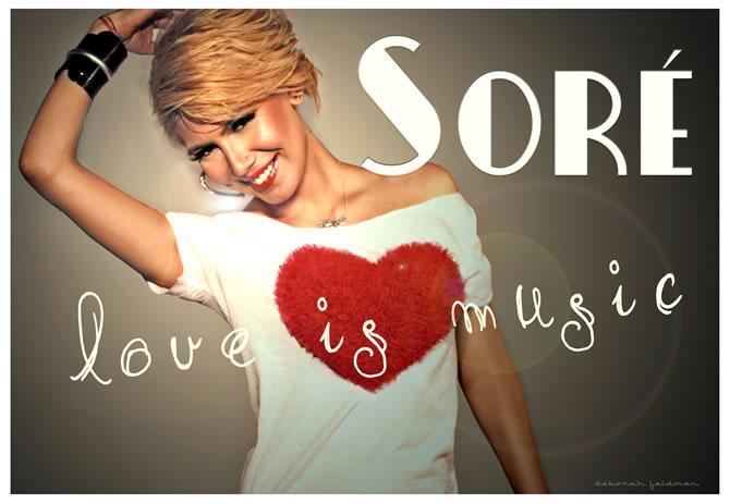 Sore - Love is music (Radio Edit)