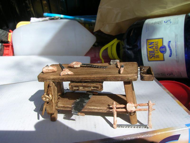 Banco y herramientas de carpintero - Trabajo carpintero madrid ...