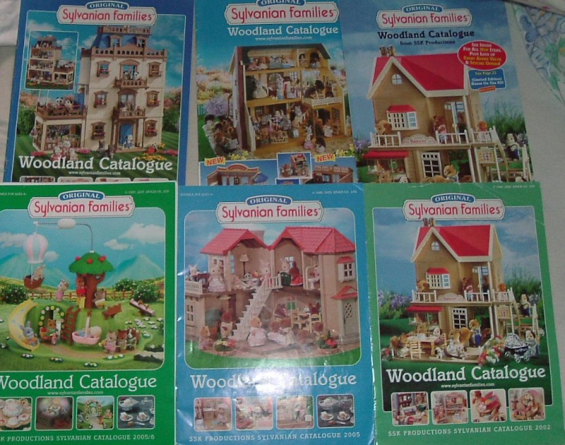 O se procurer les catalogues sylvanians - Ou se procurer des palettes ...