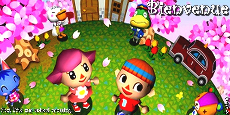 Animal crossing and cie.