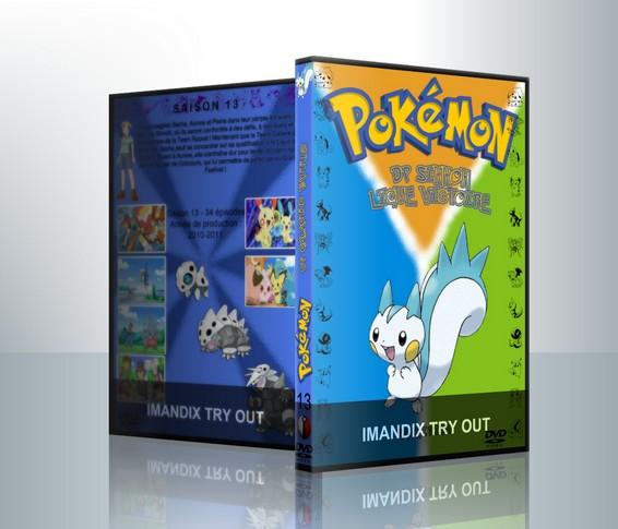 Tvcustom jaquettes dvd de s ries tv afficher le sujet - Pokemon saison 14 ...