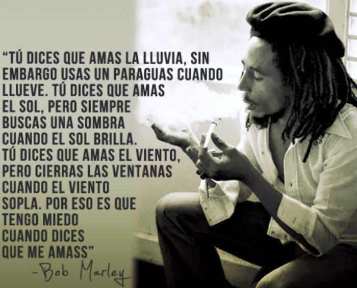 Reflexiones Bob Marley