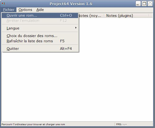 Comment utiliser project 64 for Comment utiliser essence f