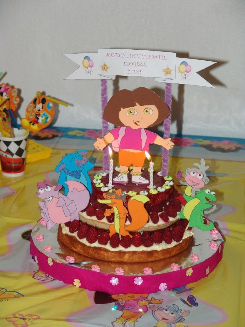 Dora l 39 exploratrice et ses amis page 3 - Anniversaire fille 2 ans ...