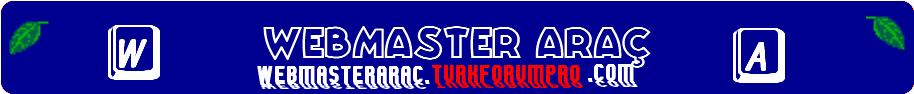 Webmaster Araç Forumu