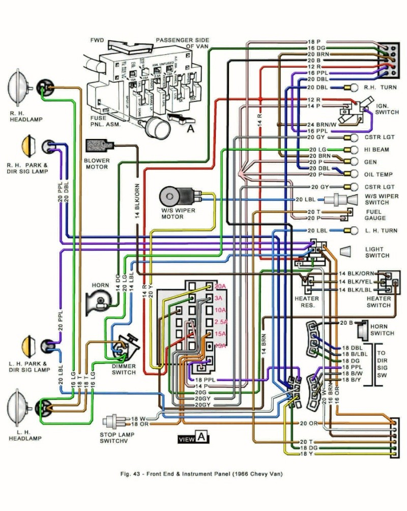 tail light wiring diagram for 1974 cj5
