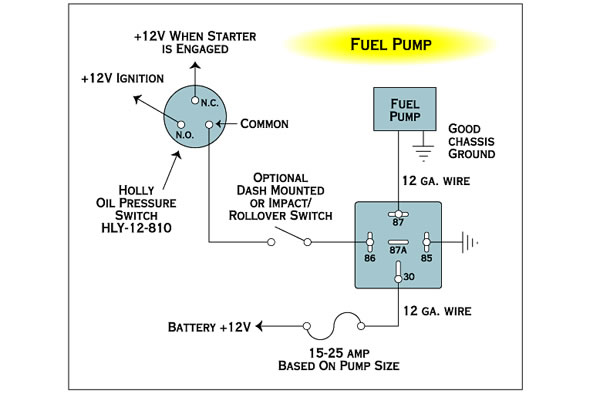 Holley Fuel Pump Wiring Diagram Detailed Diagramrh619gospelworkshopkirchzartende: Carter Fuel Pump Wiring Diagram At Gmaili.net