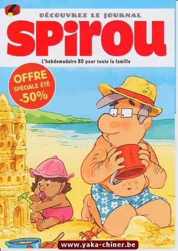 Découvrez le journal Spirou-Dupuis 2016-2017, Sac de plage