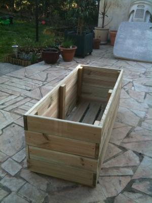 Mini bassin pour n nuphar - Bassin carre bois mulhouse ...