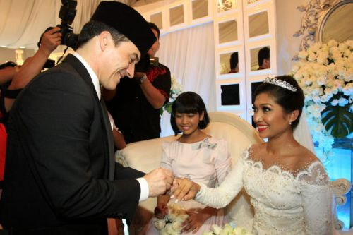 Gambar Perkahwinan Nurul Wahab - Eric Depp