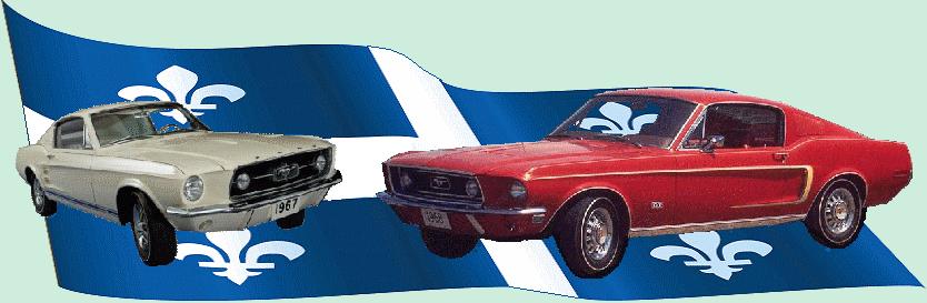Forum Mustang 1967 - 1968 du Québec