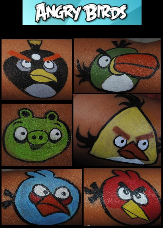 The angry birds page 3 for Angry bird mural