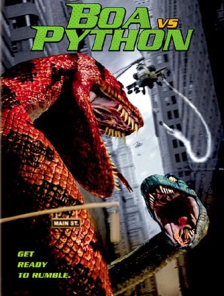film science fiction Boa vs Python 2004 David Hewlett forum cinéma FBI David Flores film monstre reptile serpent géant 2004