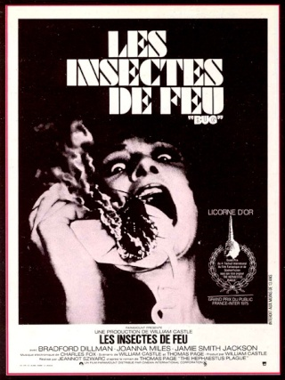 Cinéma les insectes de feu bug Science fiction insectes invasion Jeannot Szwarc Thomas Page tremblement de terre 1975 forum science fiction horreur