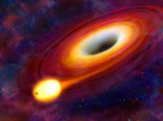 astronomie étoile trou noir dévoré forum université de Warwick phénomène stellaire