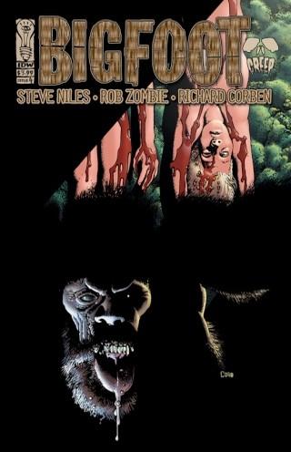 Cryptozoologie cryptozoology forum bande dessinées livre ouvrage comics Steve Niles Rob Zombie Dessins Richard Corben toth 2006 bigfoot sasquatch bigfoot story Roger Patterson Bob Gimlin