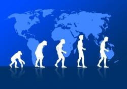Paléoanthropologie chaînon manquant l'homme descend du singe Yvette Deloison Darwin De Vries Lamarck forum Débat sur l'évolution