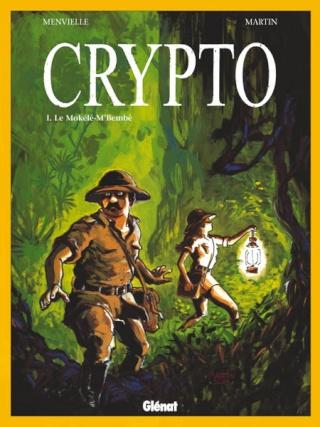 Cryptozoologie Philippe Menvielle Olivier Martin Editions Glénat Grafica Février 2004 bande dessinée cryptozoologue Mokélé-M'Bembé dinosaure survivant préhistorique