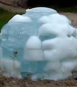 ufologie sphère de glace igloo OVNI extraterrestre juillet 2011 Forêt de Milovice forum phénomène inexpliqué République Tchèque UFO Global Reporting Center