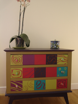 Deuxi me chambre for Formation peinture sur meuble