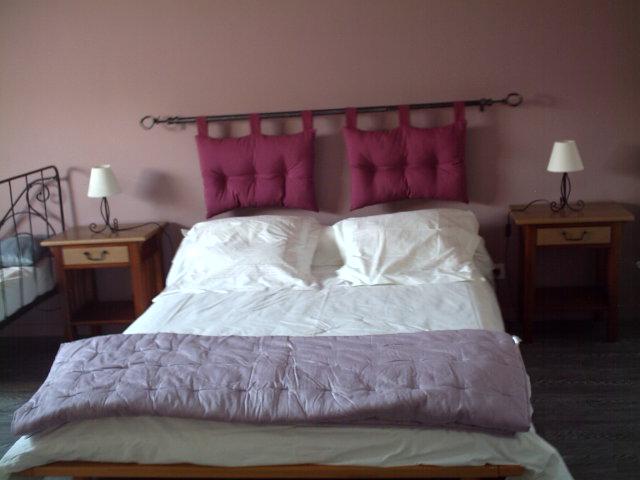 Idée chambre vieux rose - lin