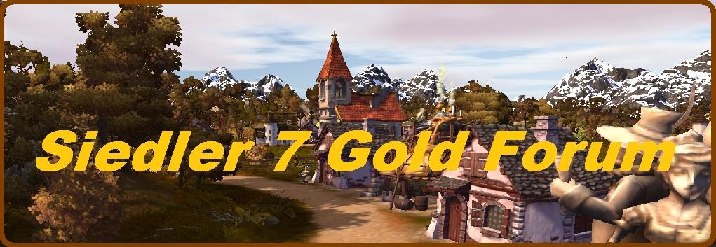 Die Siedler 7 Gold Forum