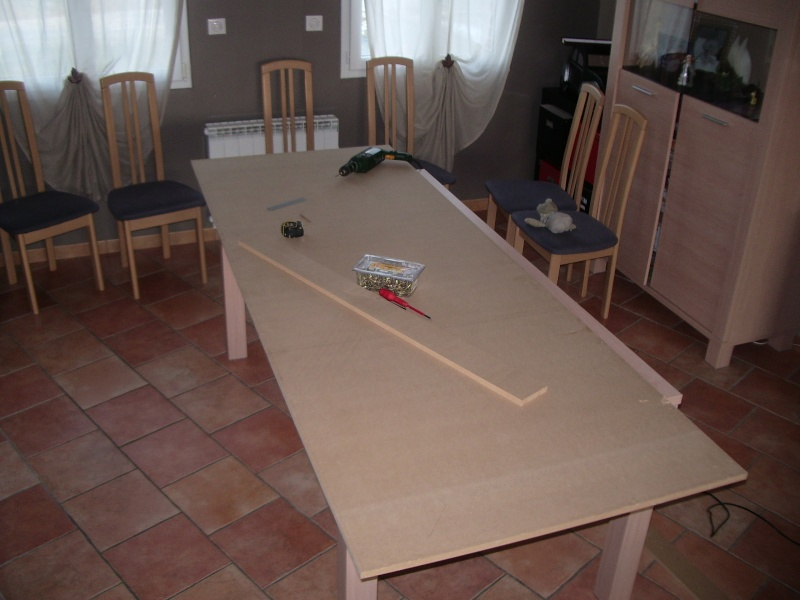 Fabrication DUne Table En Mdf En Mm De M Sur M  Forum
