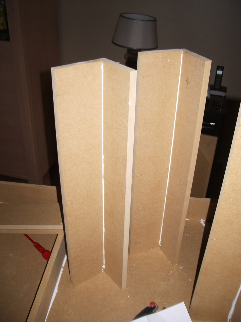 Fabrication D Une Table En Mdf En 16mm De 2 44m Sur 0 90m Forum  # Fabriquer Des Meubles Mdf