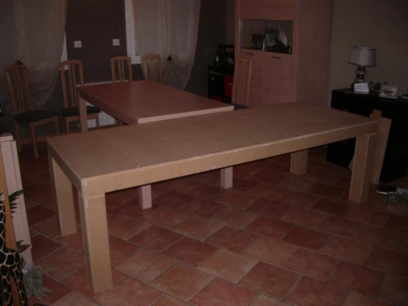 Fabrication d 39 une table en mdf en 16mm de 2 44m sur 0 90m forum d cora - Fabriquer un meuble en mdf ...