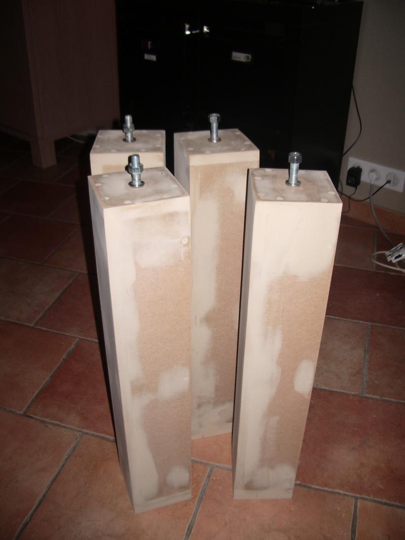 Fabrication D Une Table En Mdf En 16mm De 2 44m Sur 0 90m Forum  # Fabriquer Meuble En Mdf