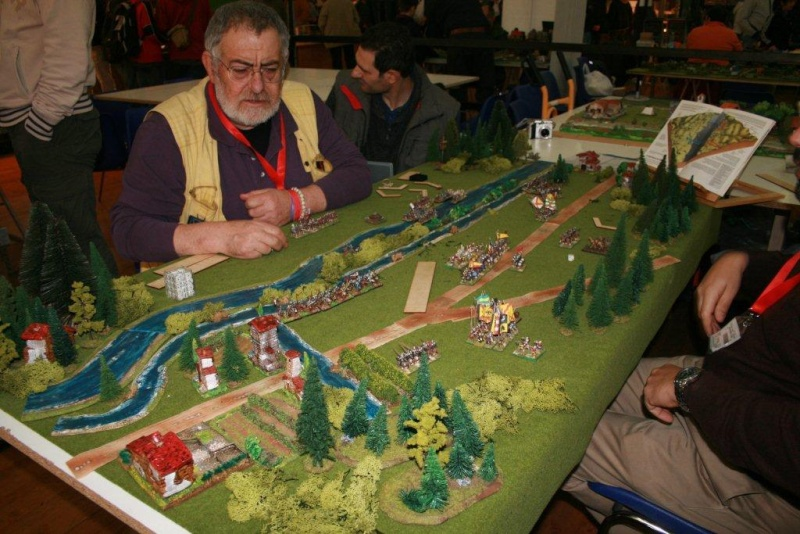 Lucca ebbi l'onore di giocare con lui la battaglia di Fornovo